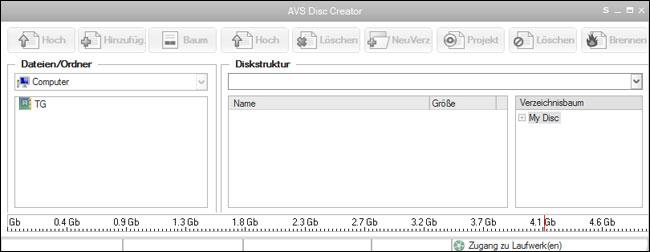 AVS Disc Creator Free 2.1