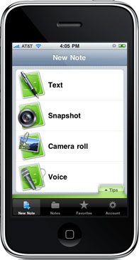 EverNote (iPhone)