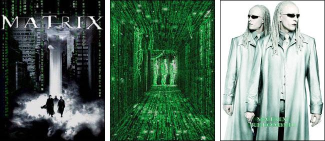 Matrix Trilogy Screensaver