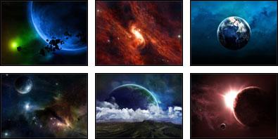 Space 1 Screensaver
