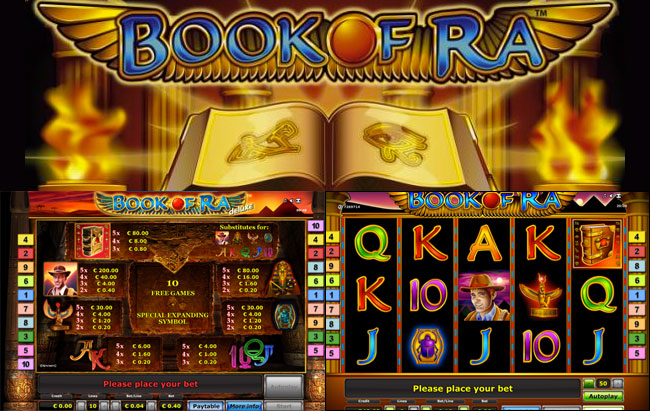Screenshot Book of Ra